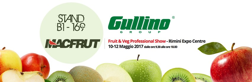 Gullino al Macfrut 2017