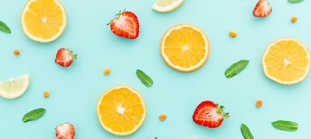 motivo-di-frutta-con-foglie-di-menta_23-2148145052